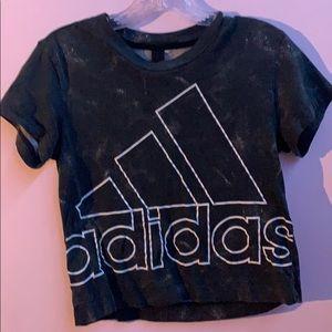Adidas crop top t-shirt